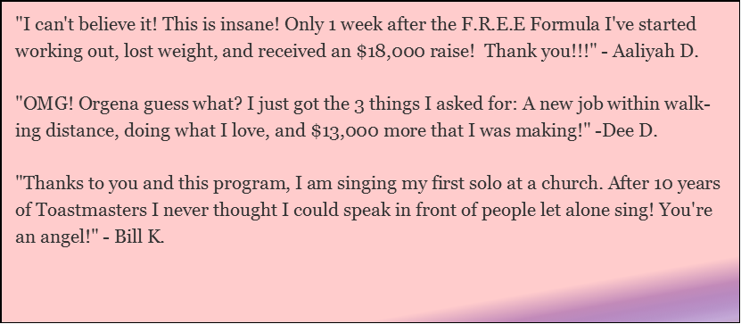 Step Into Your Vocal Power - Testimonials
