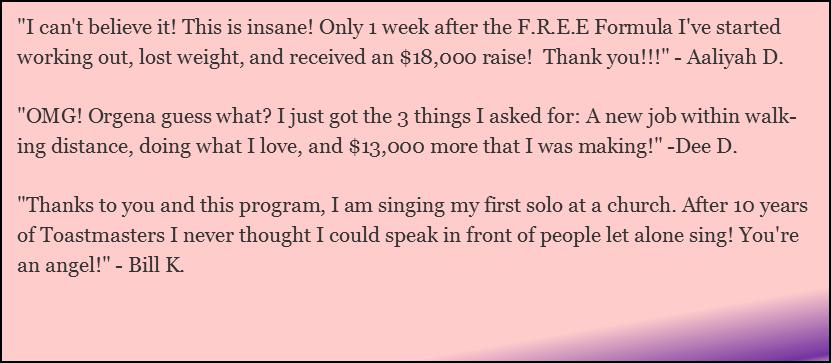Step Into Your Vocal Power - Testimonials