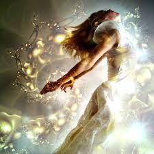 woman shine