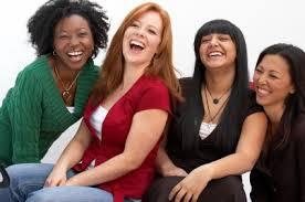 women laugh